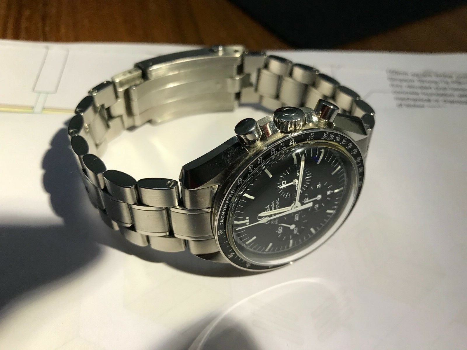 Omega Speedmaster Professional Moonwatch ref: 311.30.42.30.01.005 - watch picture 1