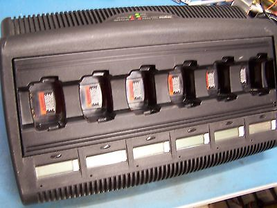Motorola Impres Battery Charger Conditioner Wpln4198 Ht1250 Ht1550 Ht750 Tested