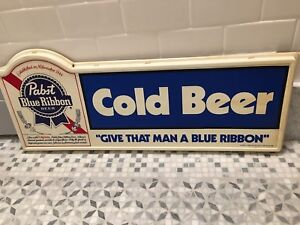 Pabst Blue Ribbon sign vintage