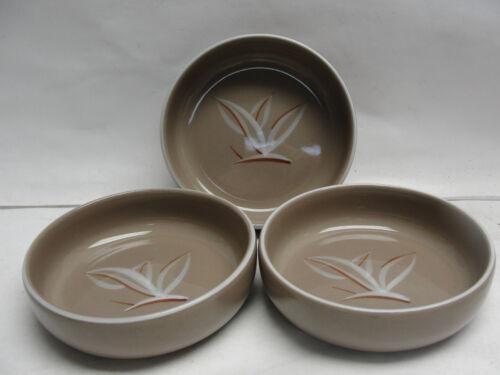 "THREE (3) WINFIELD China - DESERT DAWN Pattern - 5"" FRUIT/DESSERT BOWLS"