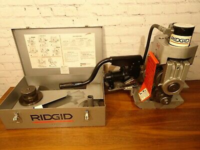 Ridgid 918 Hydraulic Roll Groover 2-6 Free 8-12  300 1224 Pipe Threader