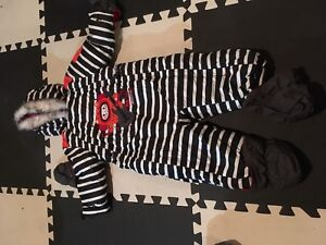 NEW souris mini 18 months 1piece snow suit