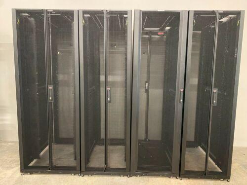 APC AR3100/AR3150 SX 48U Tall Black Extra Deep 19in Server Rack Cabinet
