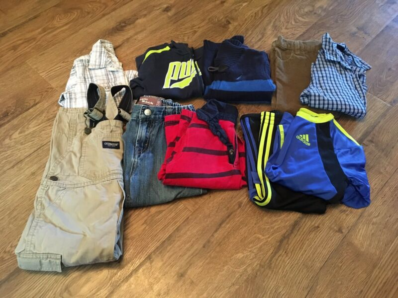 Toddler Boys Fall/ Winter Clothes Size 24 Months~lot Of 10~ec~nautica,puma,levis