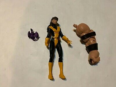 Marvel Legends X-Men Kitty Pryde BAF Complete From Juggernaut Build A Figure