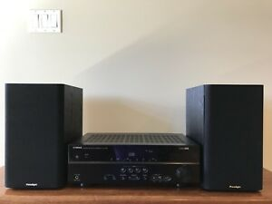Yamaha Receiver with Paradigm Speakers