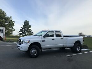 2007 Dodge Laramie 5.9l Cummins 6 speed dually