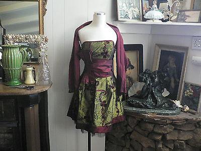 Very pretty Taffeta Mini Dress by - Juno Kostüm