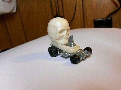 "Mattel Hot Wheels Zowee, Zowees, ""Numb Skull""  Skull Car, RARE, EX, 1972"
