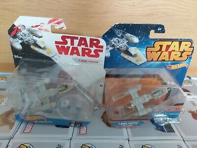 Star Wars Hot Wheels Starships Y-wing Fighter Bundle X2