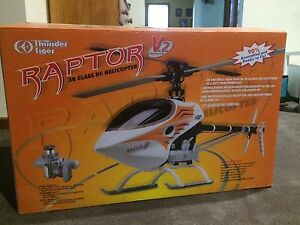 Thunder Tiger 30class V2 Raptor  RC helicopter Conder Tuggeranong Preview