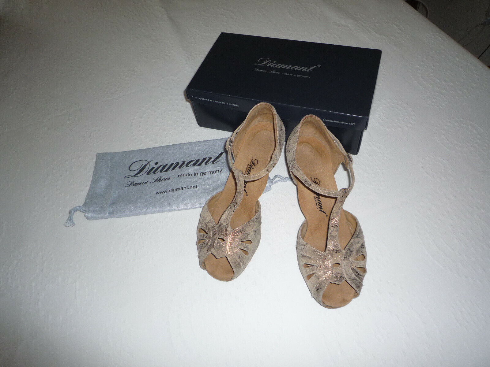 Tanzschuhe von Diamant Gr. 39   UK 6
