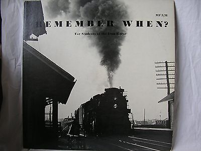 Remember When for Students of The Iron Horse, Vinyl LP