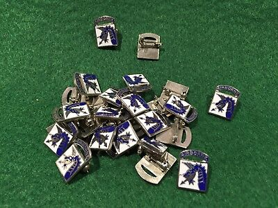 Lot of 25 1970's Vintage 18th Airborne Division Pins