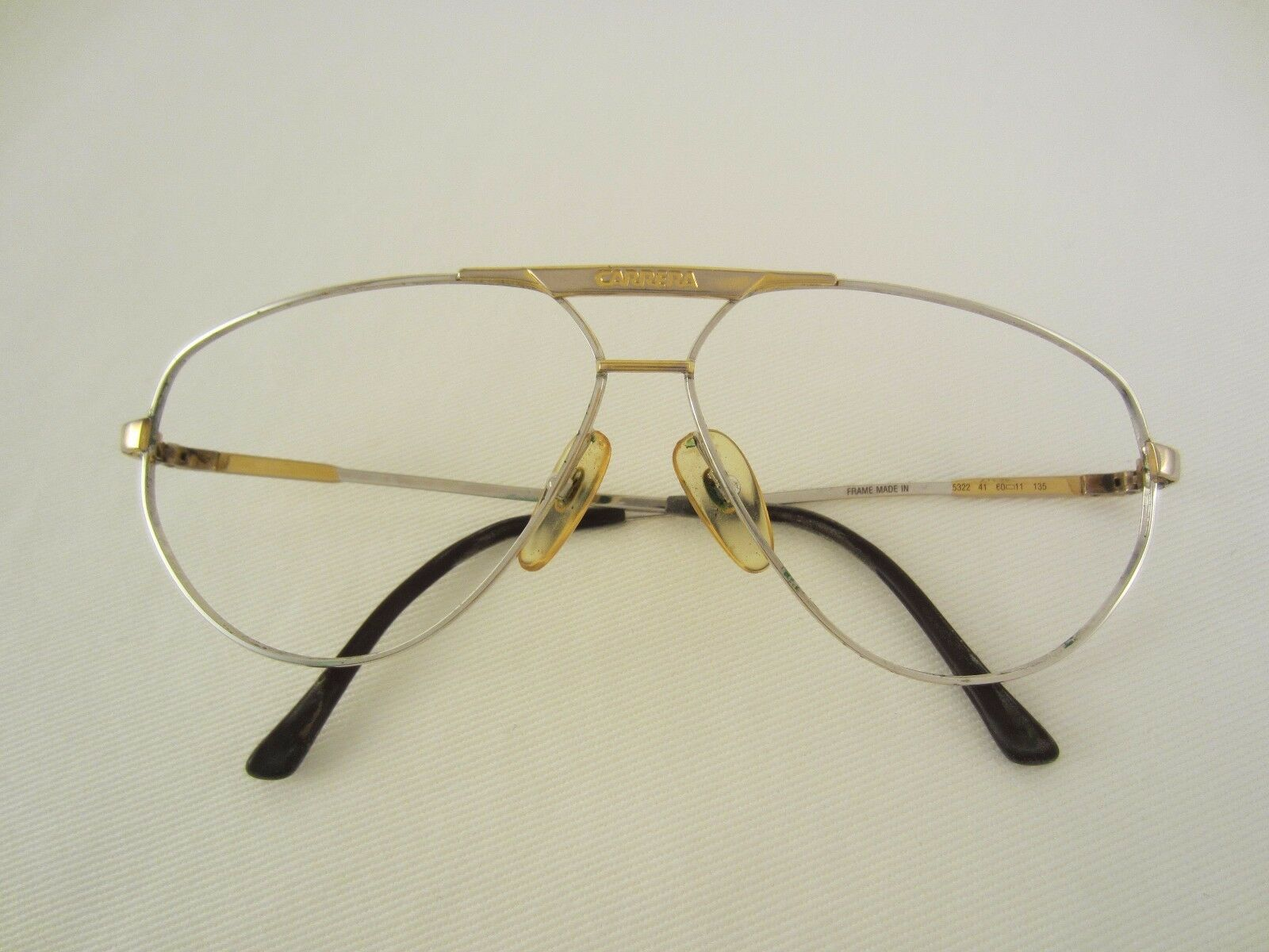 carrera brille 5322 brillengestell metall vintage aviator. Black Bedroom Furniture Sets. Home Design Ideas