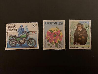 guinea bissau Stamp Set Used