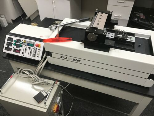 Refurbished Leica SM2500E Polycut Sliding Microtome with 9 Months Warranty!