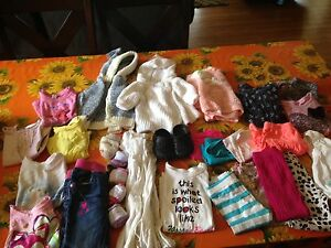 12-24/2t clothes, toys & sippy cups
