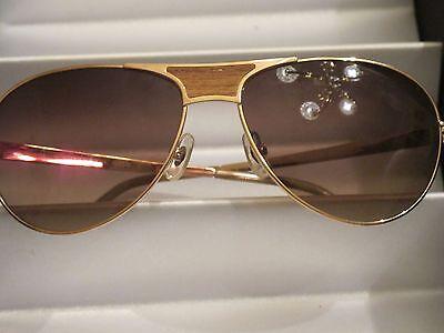Sama,  Monterey,  Pink Gold -Teak Wood -  18K Pink Gold Plating, Sz 59 NWOT $870