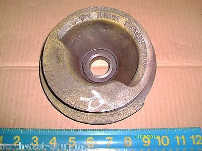 Accessory Pulley For 453 Detroit Diesel Engine Pn 8925946 2 Groove Trunk