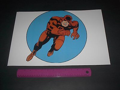 MARVEL COMICS SUPER-HEROES DAREDEVIL POSTER PIN UP OLD SCHOOL STYLE