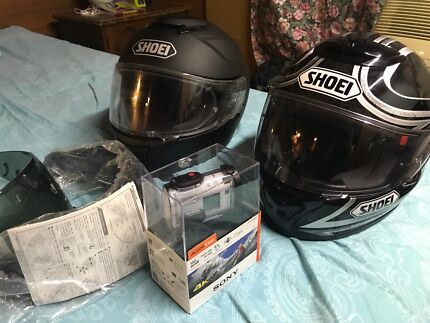 Shoei Helmets and Sony Action Cam