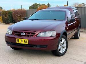 2004 FORD FALCON BA RTV 5.4 V8 UTE DUAL FUEL - VERY RARE!! South Windsor Hawkesbury Area Preview