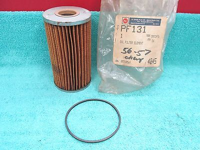 1956-57 CHEVY  OIL FILTER ELEMENT  NOS AC  217