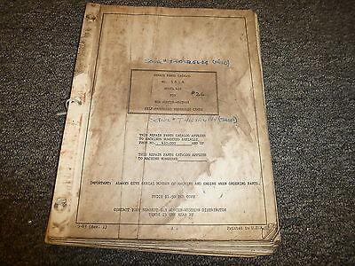 Blh Austin Western 410 Self Propelled Hydraulic Crane Parts Catalog Manual