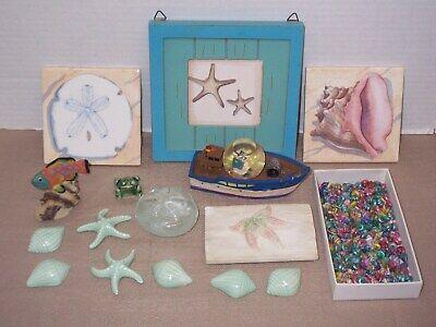 Diy Nautical Decor (Beach sea shells, nautical, DIY, home decor, crafts,)
