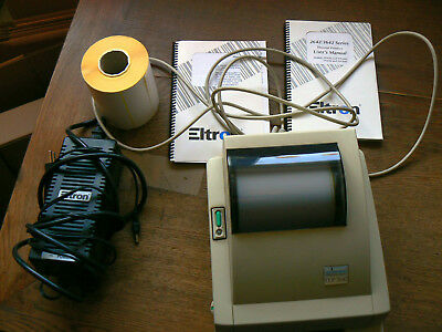 Thermodrucker Labeldrucker Eltron/Zebra 2642 incl. Etiketten 104x150