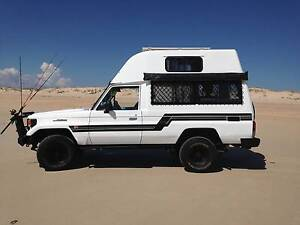 1996 Toyota LandCruiser troopcarrier bushcamper pop top Perth Perth City Area Preview