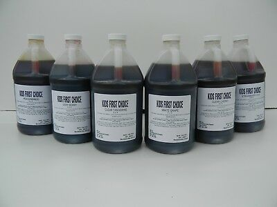 Half Gallon Concentrate - 100% Fruit Juice 7 to 1  Concentrate - case of 6 one-half gallons