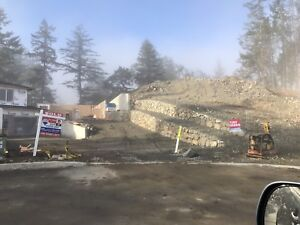 Build two homes on one view Lot in north Nanaimo
