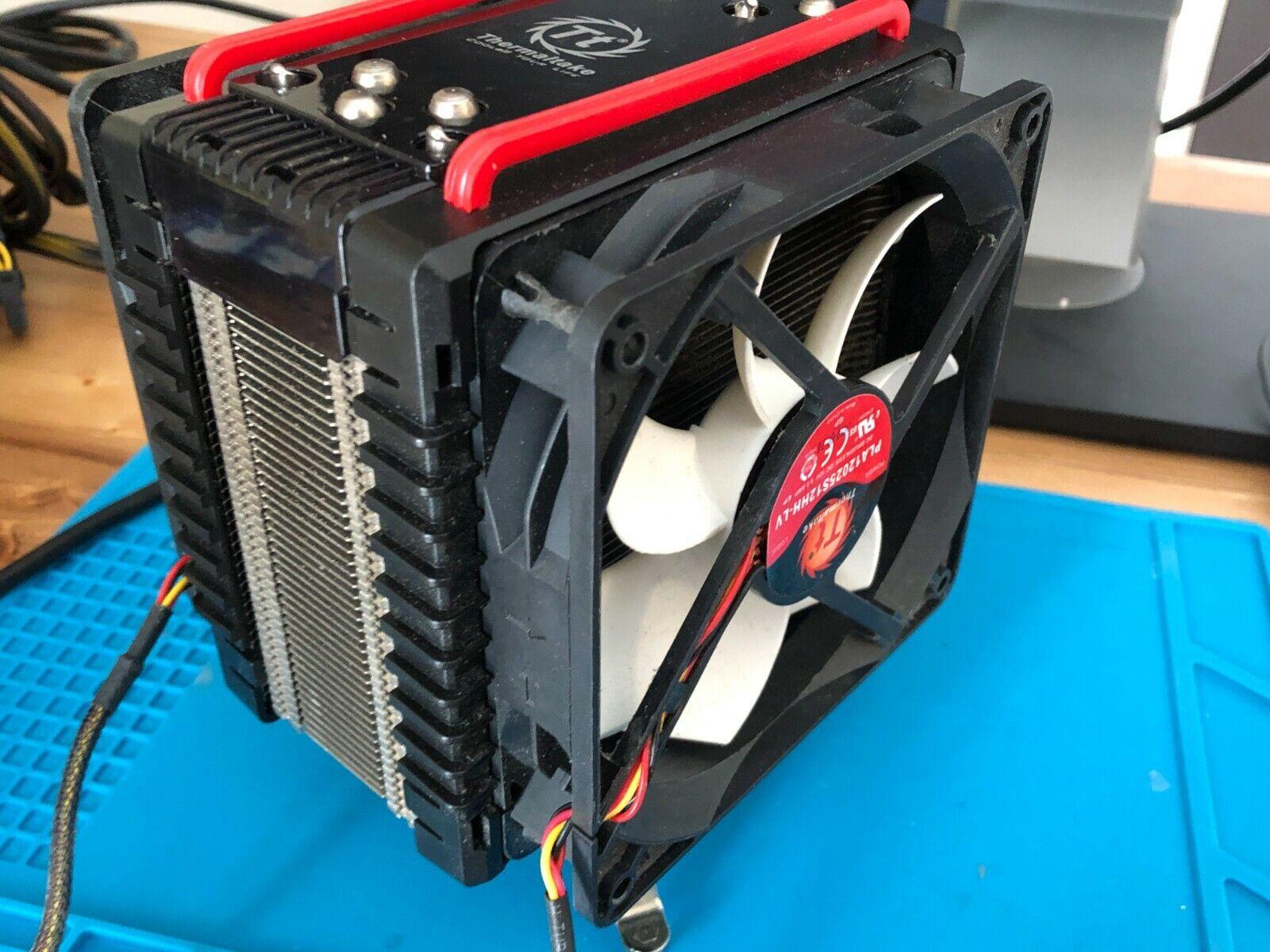 Thermaltake Frio CPU Cooler Intel AMD CLP0564 w/ Dual Fans