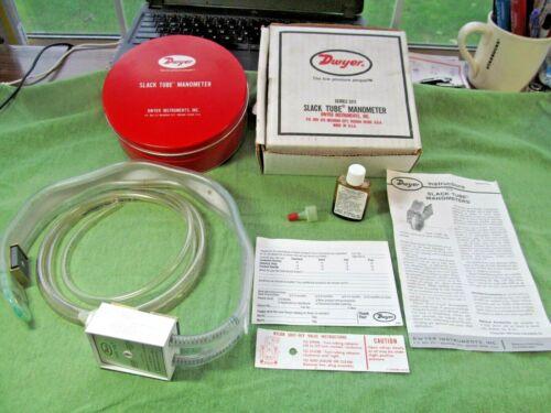 Dwyer Series 1211-16 Slack Tube Manometer