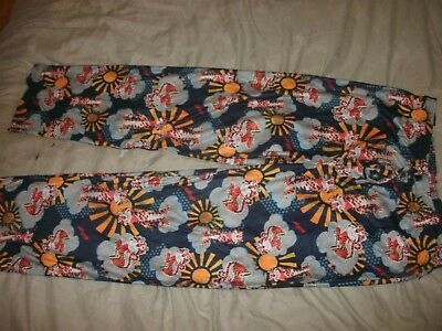 mens Kelloggs Tony The Tiger Pants PICK L,XL or XXL Pajama Lounge Fleece (Tiger Lounge Pants)