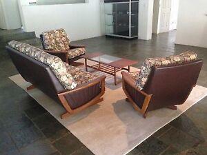 3pce Mid Century Modern Lounge Setting Retro Danish Eames Mudgeeraba Gold Coast South Preview