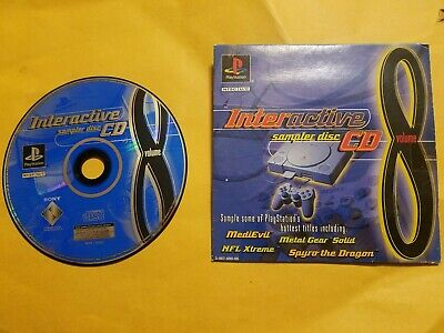 SONY PlayStation PS1 PSOne Interactive Sampler CD Disc Vol. 8 * Free Shipping!
