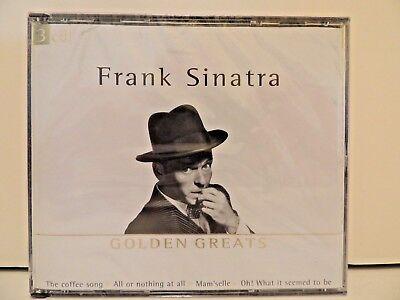 Sealed   Frank Sinatra 3 Cd Set Golden Greats  69 Songs   Mp 649932  2001