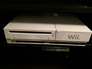 Nintendo Wii with 2 controllers and game