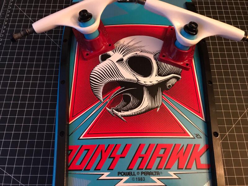 INCREDIBLE~1ST GEN~TRACKER SKATEBOARD TRUCKS~CUSTOM BEAUTIES~TONY HAWK BLUE S9!!