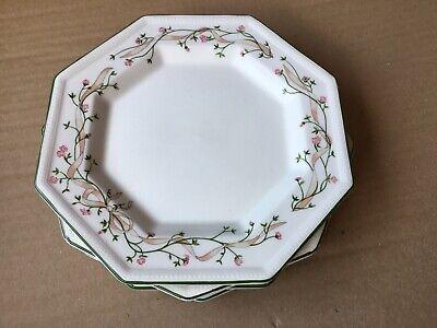 Johnson Brothers Eternal Beau Dessert Salad Plates X 4. Used