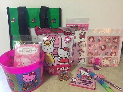 Hello Kitty Rainy Day Kit Lot Of 12 Items NEW