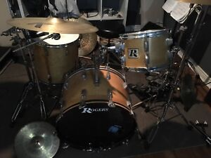 1976 Rogers drums (shells only)