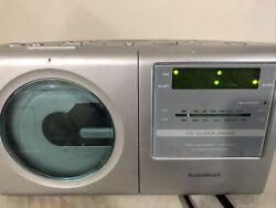 RADIO SHACK STEREO/CD PLAYER W/ AM/FM DUAL ALARM CLOCK RADIO Pre Owned