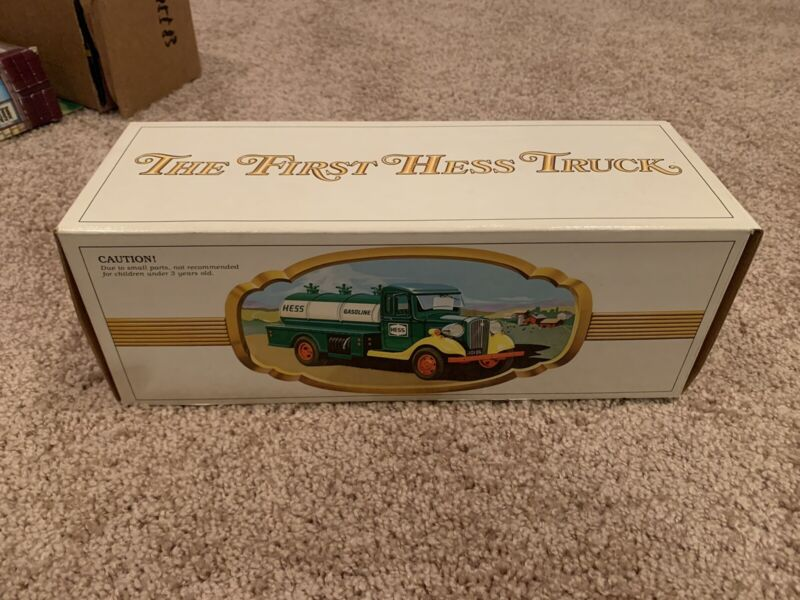 VINTAGE 1982 Hess The First Hess Truck In Original Packaging