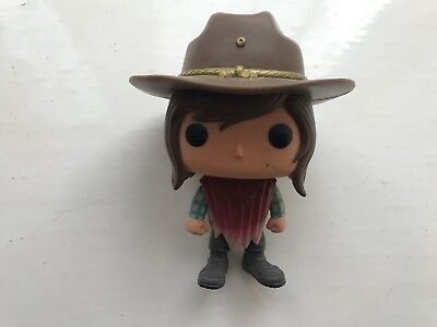 FUNKO POP VINYL AMC THE WALKING DEAD SERIES CARL GRIMES PONCHO #388 FIGURE