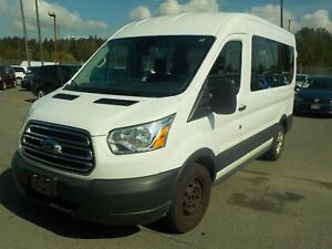 2015 Ford Transit 150 Wagon Med. Roof 8 Passenger. 130-in. WB