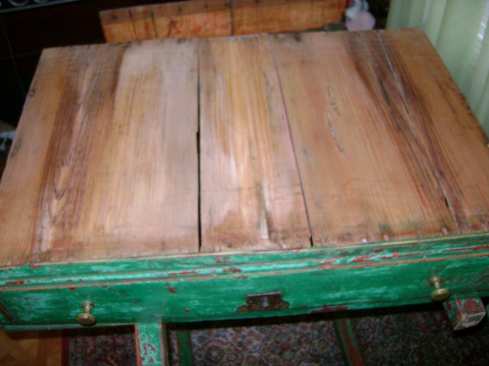 VOILA 39 1/2 W X 22 D X 29 1/2 H Spanish Table REPLICA 18th Century WOOD  - $999.99